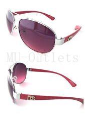New DG Eyewear Aviator Designer Sunglasses For Mens Women Retro (Pink/Pink)