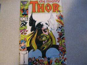 Thor #373 by WALTER SIMONSON & SAL BUSCEMA marvel's 25th anniversary cover
