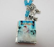 La Strega Bianca di Narnia LIBRO Ciondolo Collana Leone, strega e l'armadio Regalo