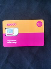 10 Koodo Multi Sim Card - Postpaid only - NOT for Pay-as-You-Go new