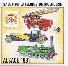 TIMBRE FRANCE BLOC FEUILLET CNEP N° 13 ** SALON PHILATELIQUE MULHOUSE / ALSACE