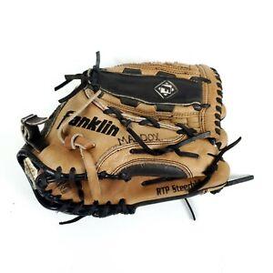 Franklin RTP Baseball Softball Glove Mit 4575 12.5 Steerhide Right Hand Thrower