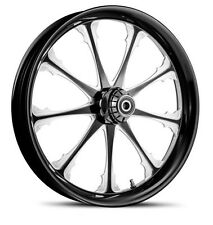 "DNA ""GREED"" CONTRAST CUT FORGED BILLET 21"" X 3.25"" FRONT WHEEL HARLEY TOURING"