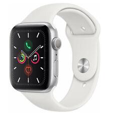 Reloj de Apple serie 5 40mm Gps Estuche De Plata De Aluminio Blanco Deportivo Banda Reloj inteligente