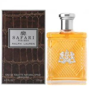 Safari by Ralph Lauren 4.2 oz / 125 ml Eau de Toillete Cologne Men NEW, SEALED