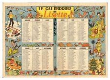 minuscule calendrier 1955 § idée cadeau anniversaire