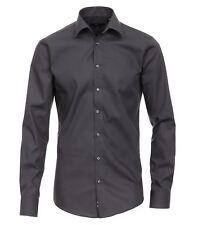 VENTI - Slim Fit - Bügelfreies Herren Business Hemd mit Extra langem Arm (72cm)