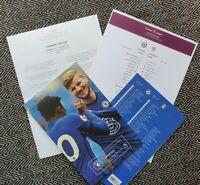 Chelsea v Liverpool 20/9/20 PREMIER LEAGUE MATCH PROGRAMME + CLUB NEWS + LINE-UP