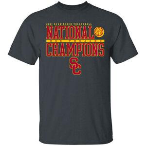 USC Trojans Women's Beach Volleyball National Champions T-Shirt S-5XL