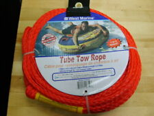 """New Boat Tube Tow Rope 60 Ft. With 6"""" Connecting Loops No 379230"""