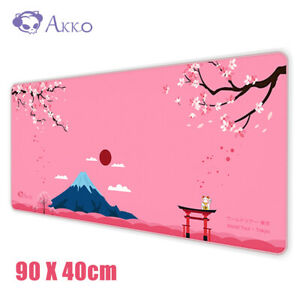 900x400mm Large Pink Non-Slip Gaming Mouse Pad Mat Office Desk Mousepad XL Size