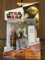 YODA Star Wars Saga Legends 2008 Legacy Collection action figure SL09