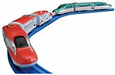 TAKARA TOMY PLARAIL Shinkansen, Bullet Train, Series E5 & Series E6 Connect Set