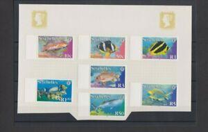 Seychelles 2003 Fish 7 v set MH per Scan .. Mint hinged