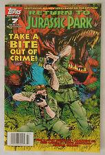 Topps Comics Return To Jurassic Park #7 1995 VF/NM