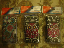 htc surround bling case lot of 3 each
