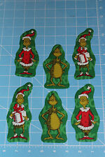 Style#2  The Grinch Who Stole Christmas Fabric Iron On Appliques - Christmas
