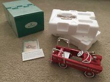 Hallmark Kiddie Car Classics Diecast 1962 Murray Super Deluxe Fire Truck Qhg9095