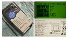 Zero Hrs Allen Bradley 25B-D4P0N104 2HP Powerflex 525 Series A Tested FRN 1.003