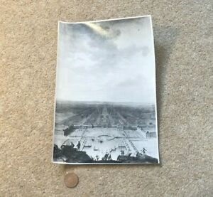 Antique Photograph Residenz Museum Nymphenburg Palace and Gardens Germany 23x16