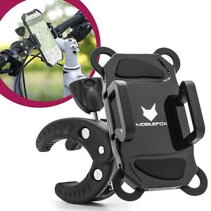 Mobilefox Universal 360° Bike Mount Mobile Phone Holder Smartphone Handlebars