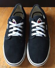 Zapatos negros DUFFER ST GEORGE Orion Talla 8 Lienzo Skate