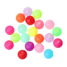 200 NEON SPACER BEADS - ACRYLIC - 6mm  - SAME DAY FREE  POST **UK SELLER**