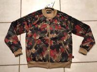 NWT ADIDAS Pharrell Williams Human Race Camouflage Jacket Women's Medium
