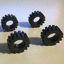 4X LEGO 3641 Tyre 6395 1062 6394 6539 1966 6346 590 374 6597 10159 6901 6371