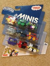 Thomas & Friends MINIS DC Super Friend 9 Pack Red-Tornado Big Barda Captain Cold
