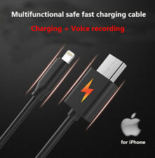 Voice Recorder Hidden Audio Record Spy USB Charging Cable for iPhone 6s 6 7 plus