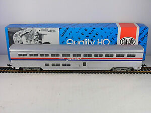 Vintage ConCor Superliner Amtrak HO Scale Coach Train Car Con-Cor  Box