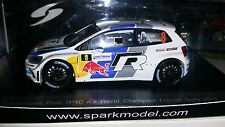 Volkswagen Polo R WRC 2013 Ogier World Champion Spark 1/43