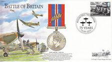 BB24 batalla de Gran Bretaña RAF Medalla de Guerra 75th cubierta de batalla de Gran Bretaña 2015 Ann