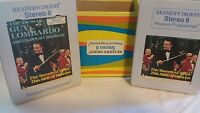 Guy Lombardo and His Royal Canadians 8Track Stereo Readers Digest 2 cartridges