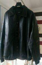 Marc Buchanan Pelle Pelle Leather Jacket, Black, Size 54 - RARE