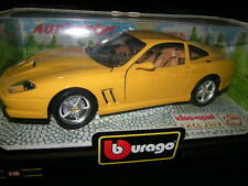 1:18 Bburago Ferrari 550 Maranello gelb/yellow Sonderfarbe OVP
