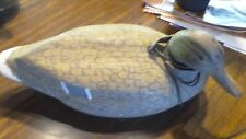 Vintage Decoy mallard hen Unlimited Clinton Iowa Duck Floating Full Size