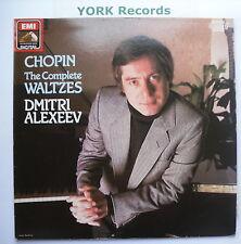 EL 27 0289 1 - CHOPIN - The Complete Waltzes DMITRI ALEXEEV - Ex Con LP Record