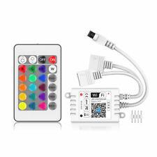 SUPERNIGHT® Dual-Connectors 24-Keys Wi-Fi Remote Controller For RGB LED Strip