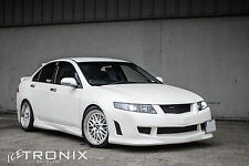 HONDA ACCORD 2003-2008 MUGEN STYLE FRONT BUMPER FRP - CARBON CULTURE