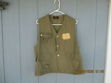 Early 1960s LL Bean Fly Fishing Hunting Vest
