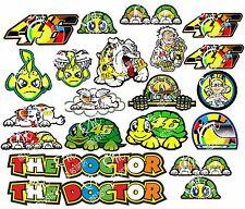 KIT 21 ADESIVI VALENTINO ROSSI 46 THE DOCTOR Aufkleber STICKERS NEW NUOVI COD46