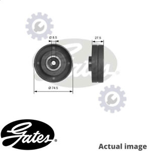 NEW DEFLECTION GUIDE PULLEY TIMING BELT FOR VOLVO VW AUDI 740 744 D 24 T GATES
