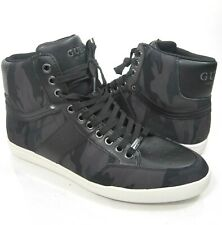 Guess Men's Shoes Fomo Size 9 Black Camo High Top Sneakers