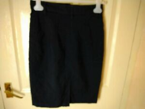United colours of benetton Black Lined Wool Skirt Size Small