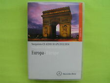 CD NAVIGATION MERCEDES BENZ AUDIO 50 APS 2014 A B C CLK GL M R SMART VITO 15.0