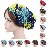 femmes bandeau bonnet bowknot foulard la chimio pac le turban floral dormir.