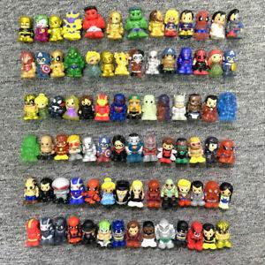 10/30/50pcs Ooshies DC Comics/Marvel Heroes/WWE Pencil Toppers Figure Random