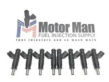 Motor Man - 04591851AA OEM Deka Flow Matched Fuel Injector Set 4.7L 5.7L
